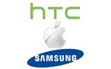 HTC et Samsung attaquent Apple aux États-Unis